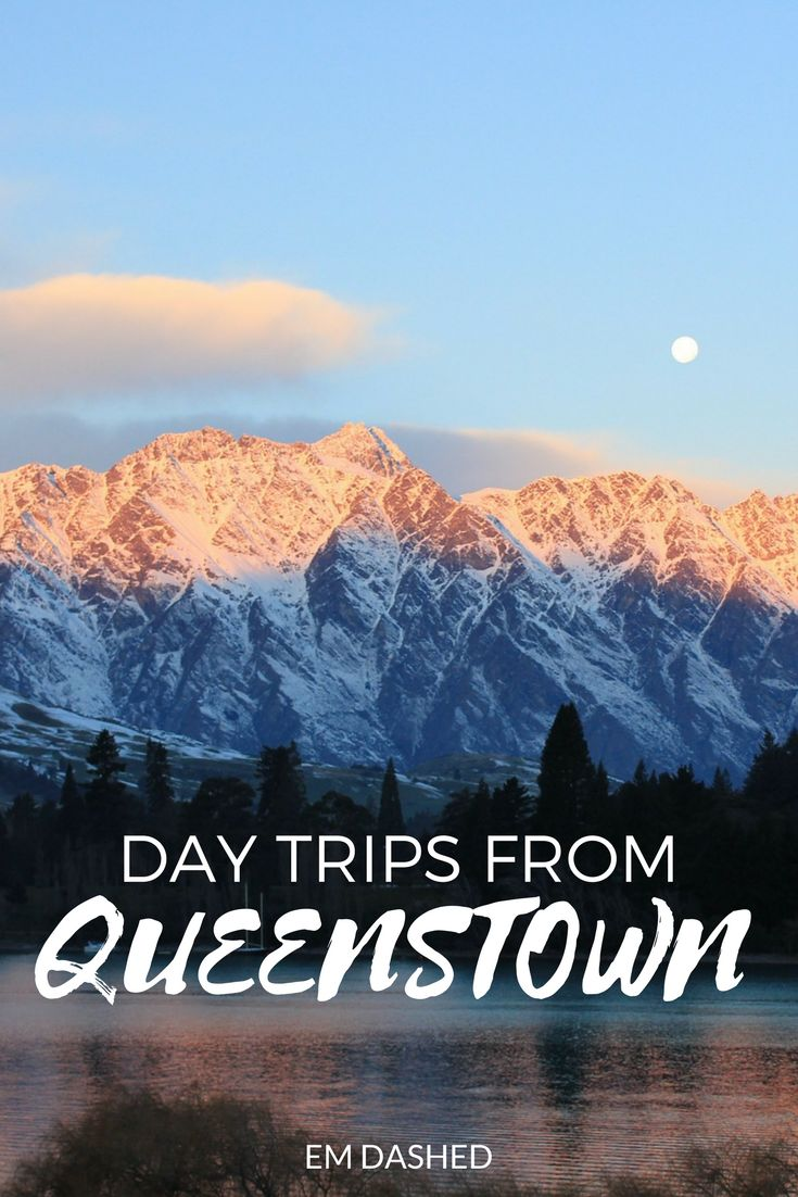 Queenstown, New Zealand: love it or hate it, you shouldn't forget about the rest of the Southern Lakes region. Here are three options for day trips to take from Queenstown -- each one a beautiful drive, but also a worthwhile destination in its own right.