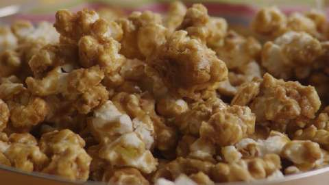 Caramel Popcorn Allrecipes.com    def gonna try with my own caramel first...  :)  can't wait