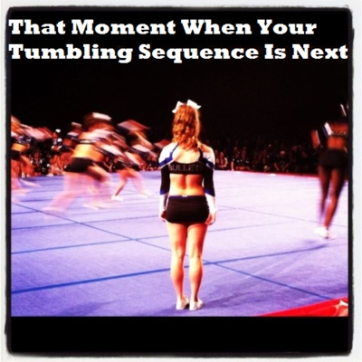scariest. feeling. ever.: Adrenaline Rush, Cheer Quotes, Favorite Things, Things Cheer, Cheer 3, So True, Feeling Nervous Quotes, Cheerleading 3, Amazing Feeling