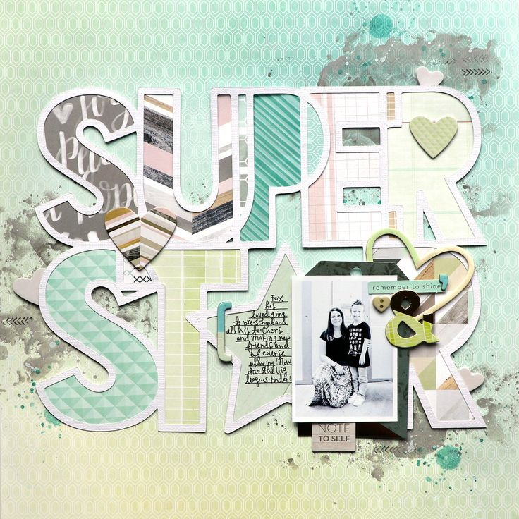 Super Star Layout | Chris and Paige | Bloglovin'