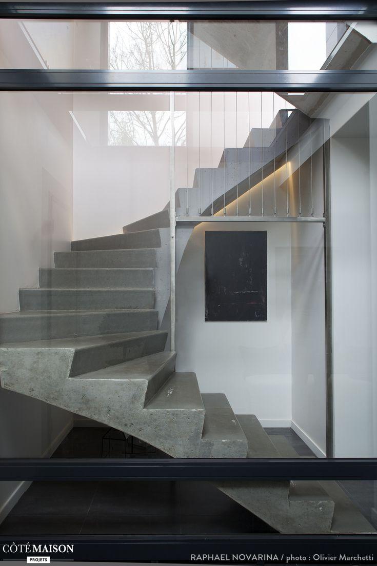 les 275 meilleures images du tableau escaliers sur pinterest escaliers id es pour la maison. Black Bedroom Furniture Sets. Home Design Ideas