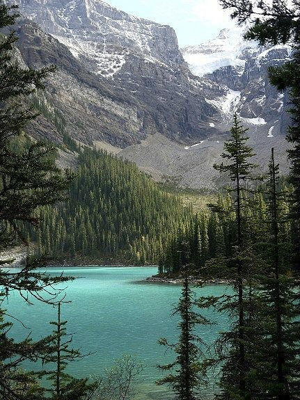 """Moraine Lake in Banff National Park"""