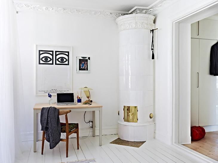 design attractor: Beautiful Apartment in Linnéstaden
