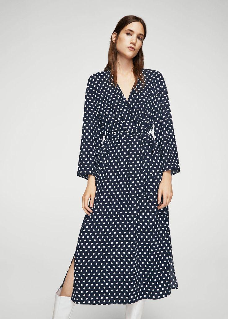 Sukienka w groszki | MANGO
