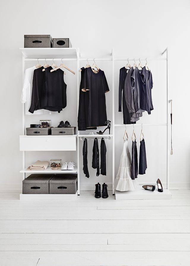 exposed closet ideas - Best 25 Open wardrobe ideas on Pinterest