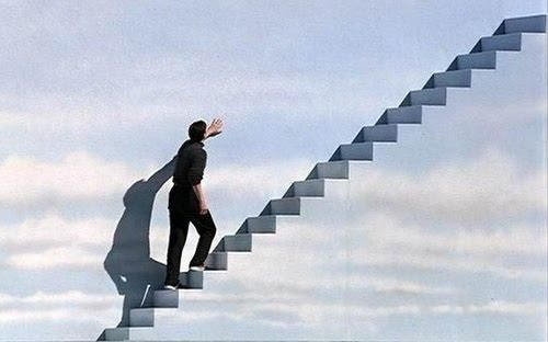 Stairway to heaven.. (The Truman Show)