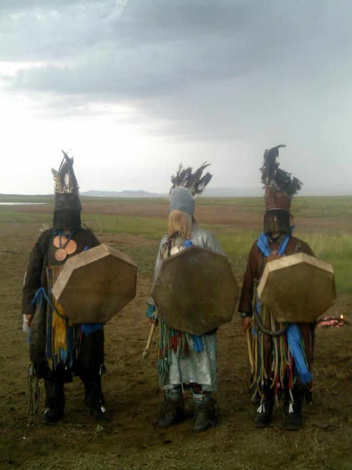 Mongolian shamans