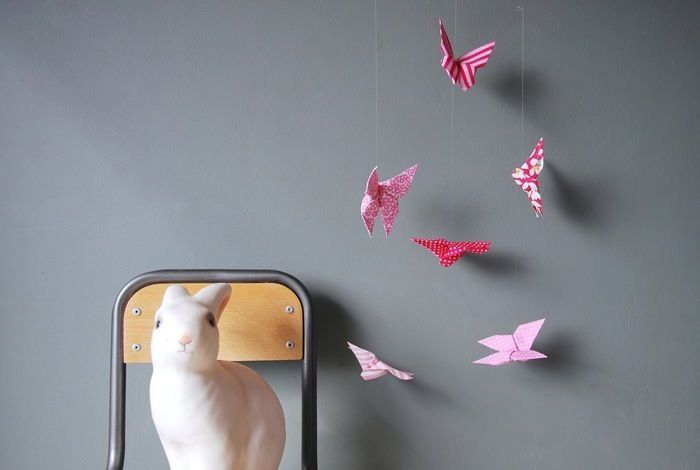 Butterflies Pink mobile