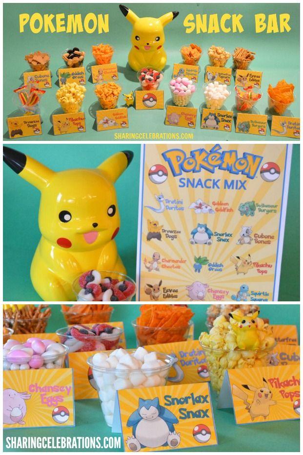 Pokemon Snack Bar