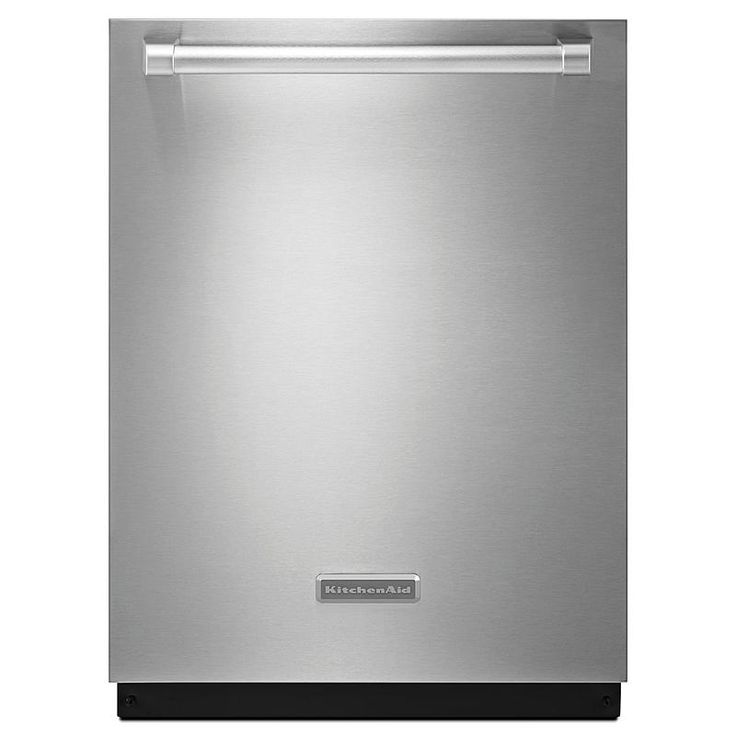 KitchenAid - KDTE404DSP - 24-in. Built-in Dishwasher w/ ProScrub® Trio Option and Concealed Controls - Stainless Pro | Sears Outlet