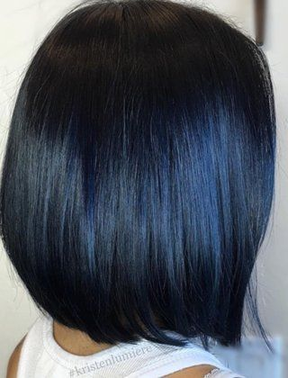 The 25 best blue black hair color ideas on pinterest for Acappella salon temecula