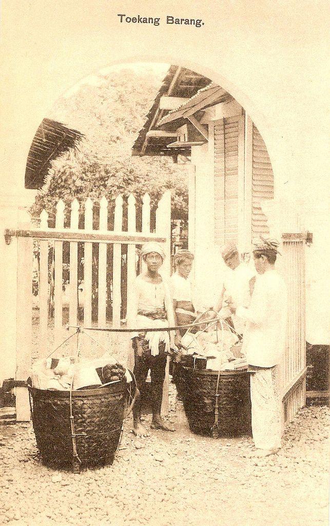 Tempo Doeloe #18 - Tukang Barang, 1912