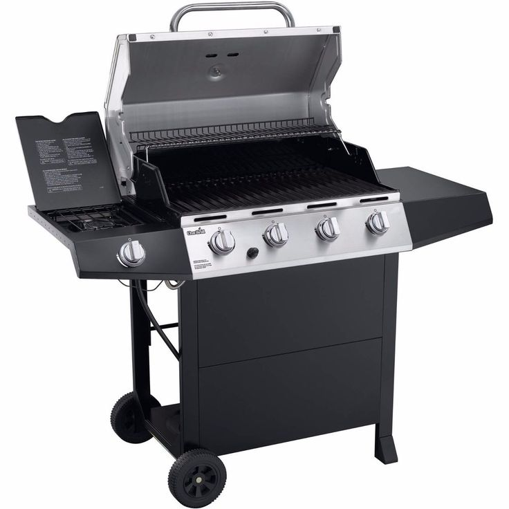 Char Broil Gas Grills Parts Accessories Side Burner Stainless Steel Propane  NEW #CharBroil
