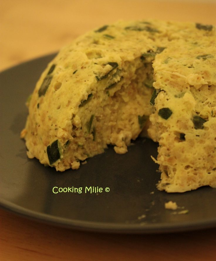 Bowl cake courgette boursin®