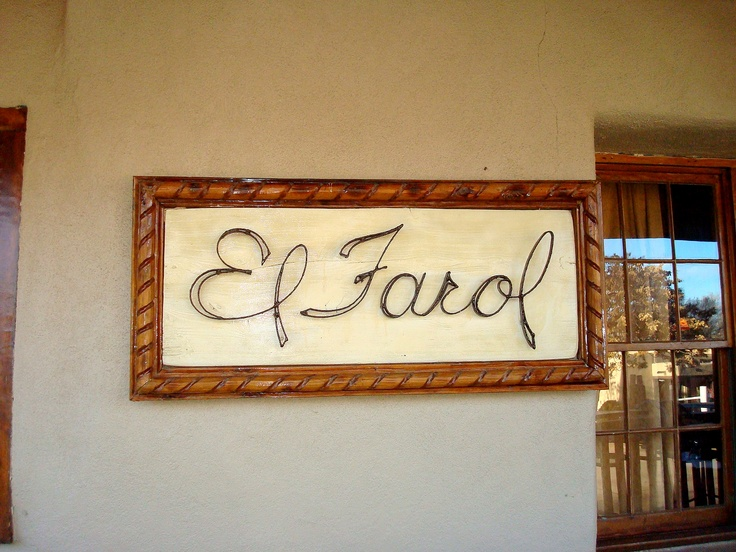 Great Spanish Restaurant on Canyon Road, Santa Fe, NM.