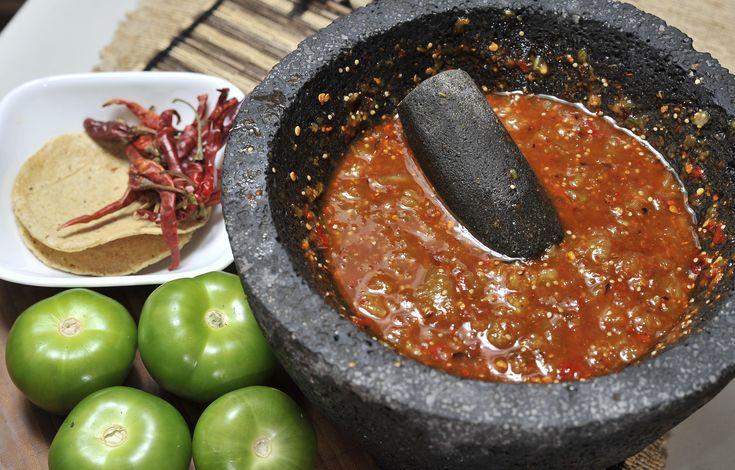 Salsas picantes mexicanas