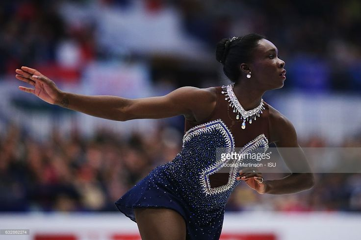News Photo : Mae Berenice Meite of France competes in the...