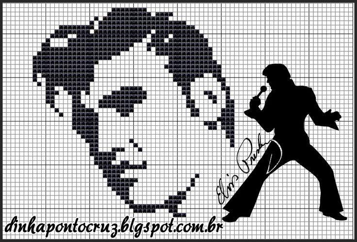 23 Best Plastic Canvas Elvis Images On Pinterest Plastic
