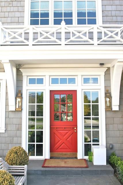 Coral Front Door  |   Island Posh: