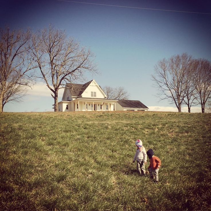 "Amy Allen on Instagram: ""#day730 for #sawyerjudeallen and #year4 for #avaclaireallen. We love exploring the pasture!"""
