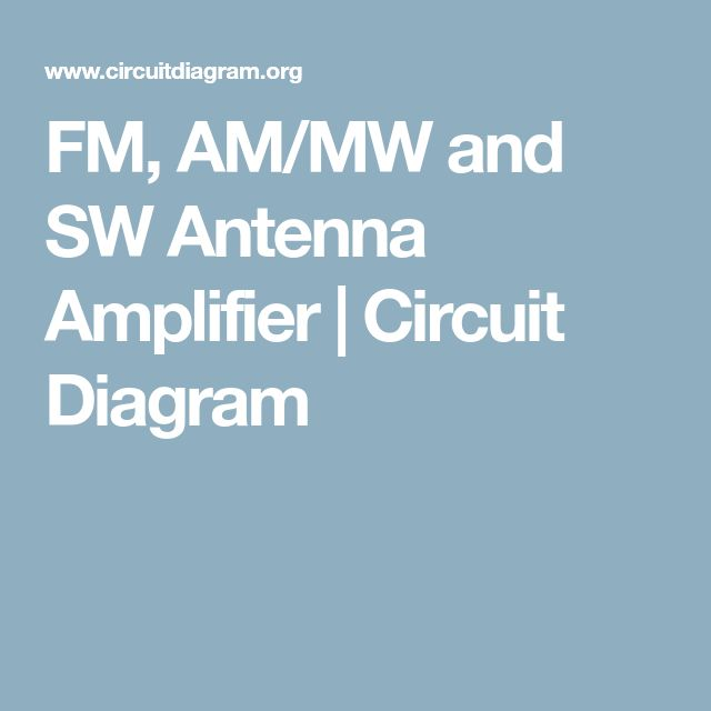 The 264 best Circuit diagram images on Pinterest | Circuit diagram ...