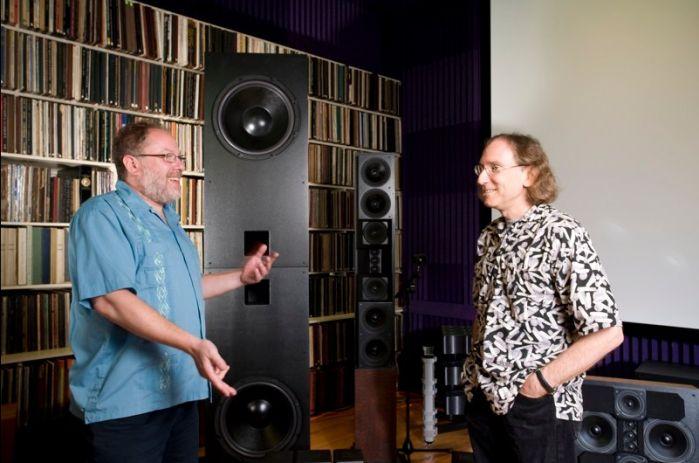 Producer & Designer Jeremy R. Kipnis & Hi-End writer Steve Guttenberg at the Left Channel