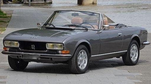 Peugeot 504 2.0 TI Cabriolet 1978