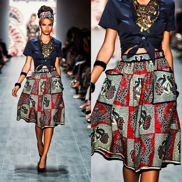 1000 Images About Beautiful Ankara Style On Pinterest High Waist Skirt African Fashion And