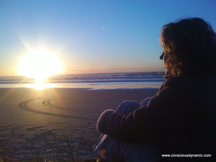 Sunrise at Moreton Island