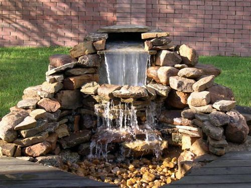 82 best outdoor drainage images on pinterest garden deco for Garden waterfalls do it yourself