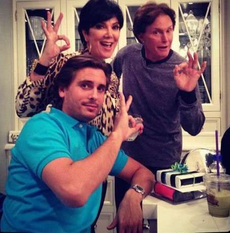 Pin if you think these three are assholes.  This 666 hand sign (Bruce and Kris Jenner, Scott Disick) has been pinned more times than all others I have.  I suspect for wrong reasons.  Therefore, if you believe these three have been dogged by the illuminati, pin it.  If you think this is hip, f**k you.