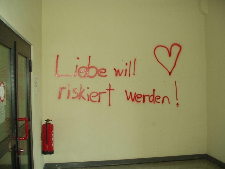 Liebe will riskiert werden