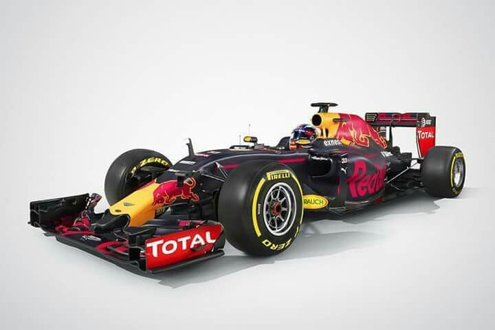 Max Verstappen New car Rb12 Formule1