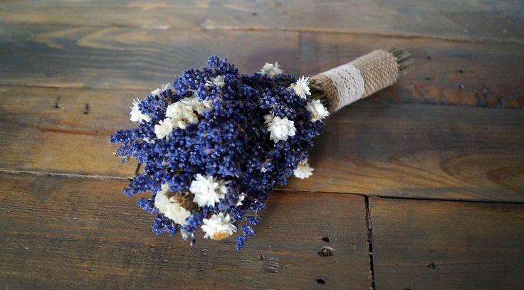 Lavender wedding lavender bouquet lavender wildflowers wedding bouquet lavender bouquet diers dried flowers provence decor for bridesmaid by WeddingDesignForYou on Etsy
