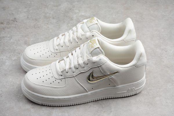 Nike Air Force 1 07 Premium Lx Phantom Metallic Gold Star Summit White For Sale Women Shoes Online Comfort Shoes Women Adidas Shoes Women