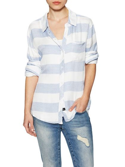 Hunter Striped Shirt by Rails at Gilt
