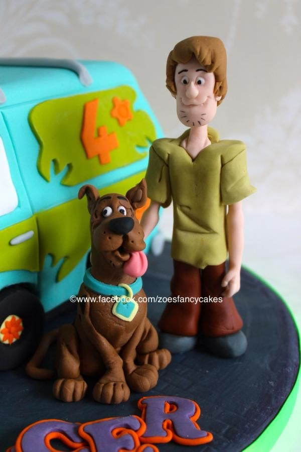 Shaggy (from Scooby-Doo) tutorial - Cake by Zoe's Fancy Cakes