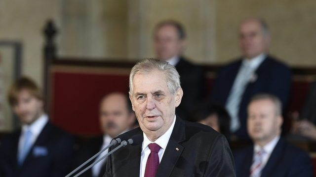 Inaugurace 2018: Miloš Zeman složil slib a vyřizoval si účty.