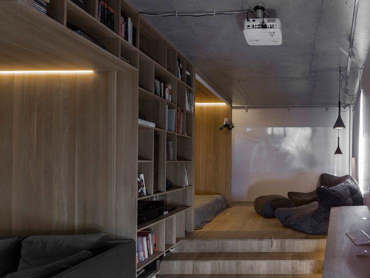 Studio Apartment Open Plan