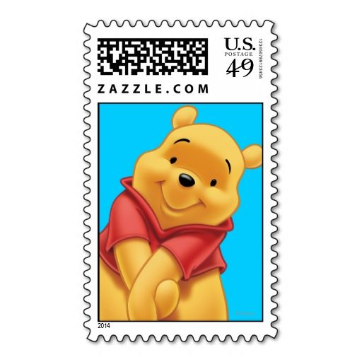 Winnie the Pooh 13 Stamp. It is really great to make each letter a special delivery! Add a unique touch to invites or cards with your own photos or text. Just click the image to learn more!