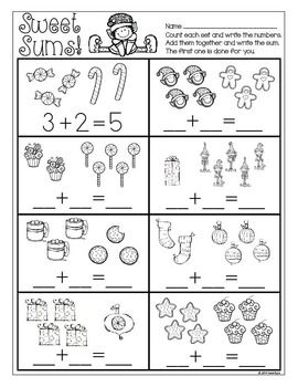 Print and Go! Christmas Math and Literacy ~ Save some time this holiday season with these sweet practice pages for Kindergarten.  Black & white printables for homework, morning work, or independent centers.  Your students will LOVE these.  Happy teaching! $