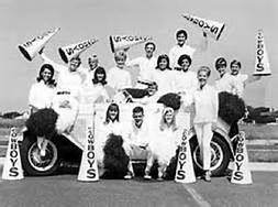 Trivia Tuesday: In the 1960s the Cowboys cheerleading squad, the Cow Belles & Beaux, were made up of local female & male high school students.