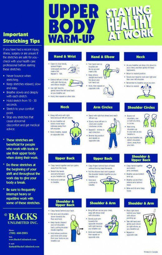 Office Stretching Exercises Pdf
