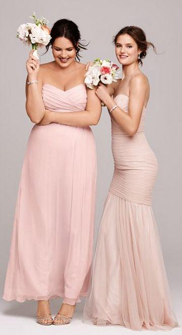 Blush bridesmaid dresses http://www.theperfectpaletteshop.com/#!bridesmaid-dresses/c1oc8