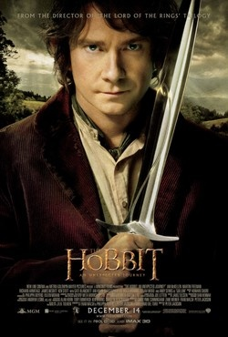 The Hobbit: An Unexpected Journey, part one of three that Peter Jackson is filming from JRR Tolkien's classic. Screened 4/16.