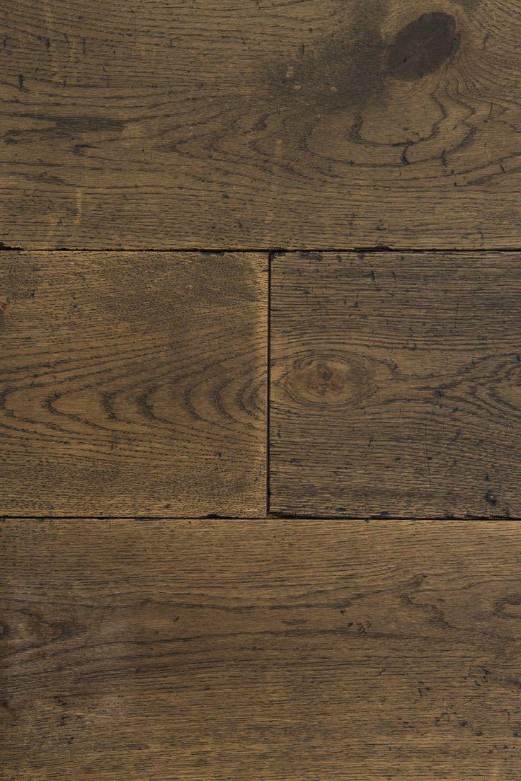 Distressed Burned Earth - Oak Flooring