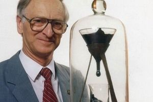 The Pitch Drop Experiment in St. Lucia Australia