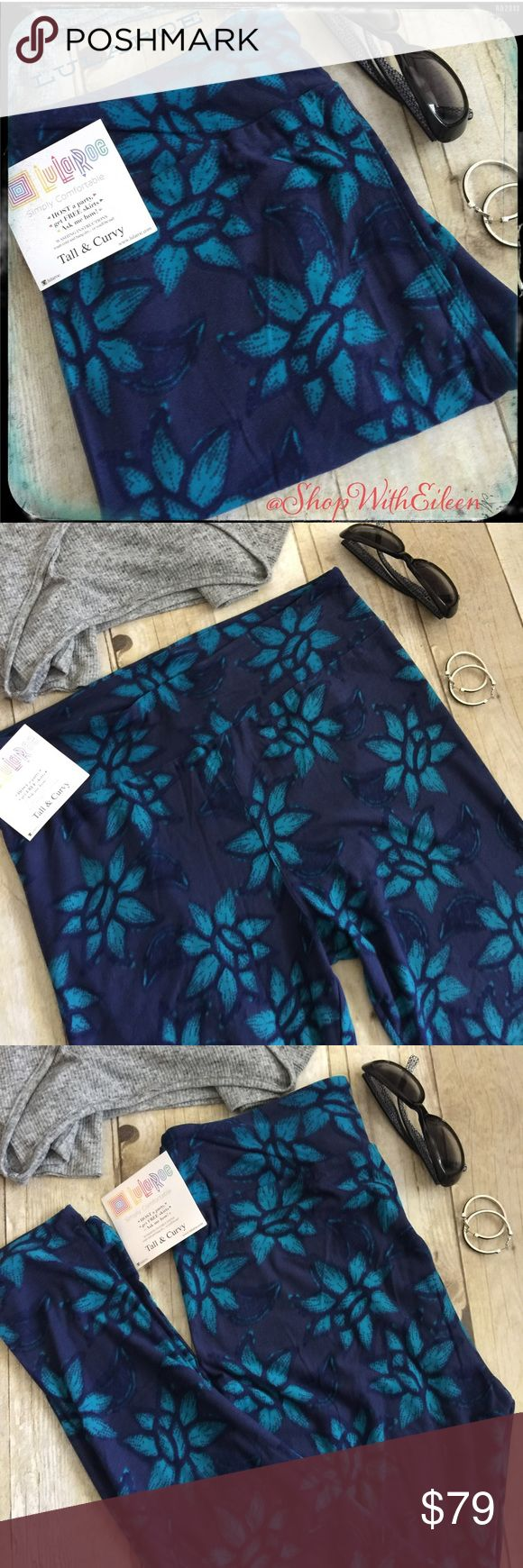 LulaRoe NAVY BLUE PEACE SIGN FLOWER TC Leggings  LulaRoe BOHO CHIC NAVY BLUE PEACE SIGN FLOWERS TC Leggings! GORGEOUS!!!! Navy blue background with peace sign flowers scattered all over these leggings! So BOHO CHIC ! Made in Indonesia. *I am not a consultant... I'm just an addict that loves searching for hard to find {next to impossible} patterns! Supply + Demand= Price LuLaRoe Pants Leggings