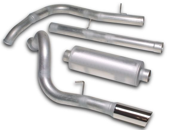 JBA Exhaust - JBA Performance Exhaust Systems & Cat Back Exhaust Kits  From auto anything they always have great deals coming to my email.   For the Toyota 97 4runner 3.4L engine with2.25 head and tail pipe, single side exit.