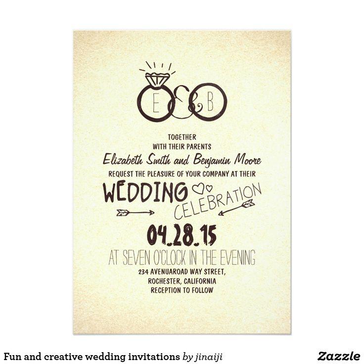 1369 best Creative Wedding Invitations images on Pinterest ...